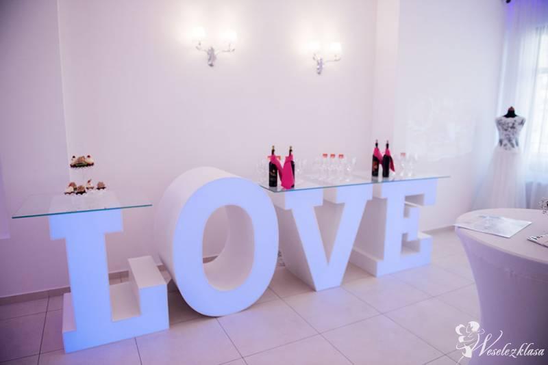 JUTO - Stół napis LOVE podświetlany, Legnica - zdjęcie 1