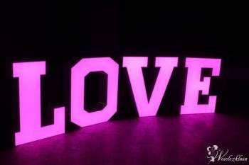 Napis LOVE led 100cm! + FOTOBUDKA atrakcyjne ceny!, Napis Love Lubień Kujawski