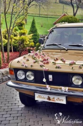 Fiat 125p do ślubu!, Samochód, auto do ślubu, limuzyna Ustroń