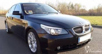 Ekskluzywne auto do ślubu BMW E60 535d ślub, wesele, chrzciny, Samochód, auto do ślubu, limuzyna Szczuczyn