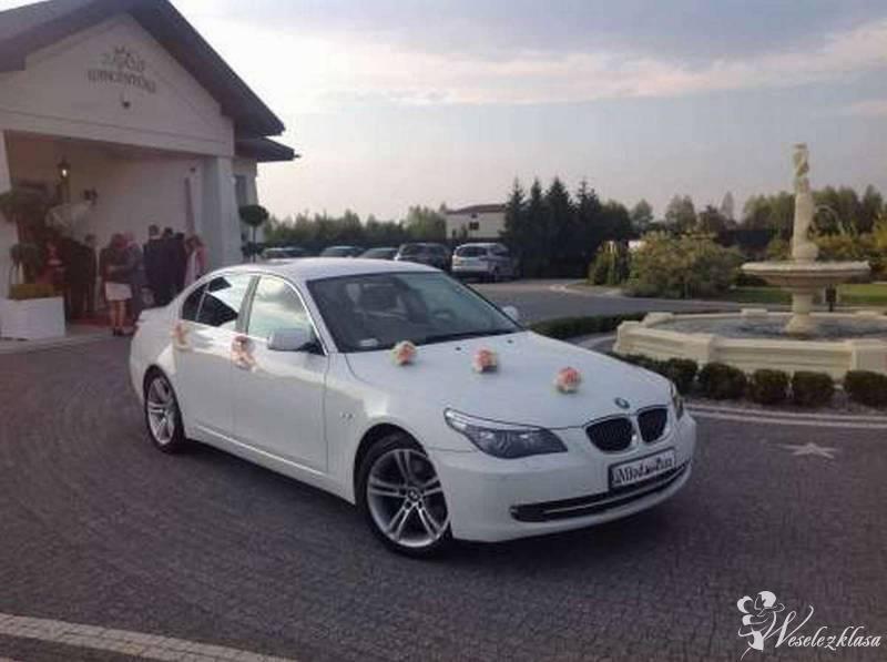 BIAŁE BMW seria5 do ślubu, Lublin - zdjęcie 1