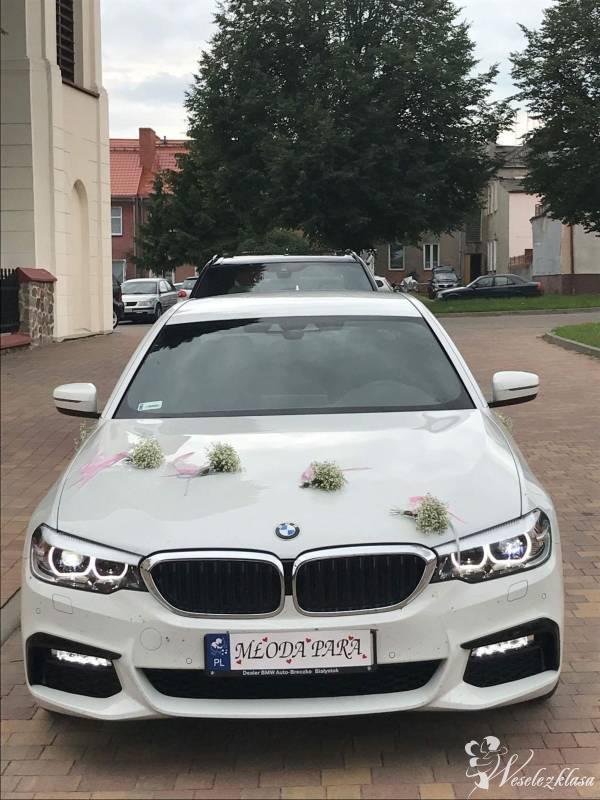 BMW X5 M50D M-PERFORMANCE BMW G30 M-pakiet *biel* alpejska, Białystok - zdjęcie 1