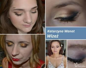 Profesjonalny makijaż okolicznościowy. Katarzyna Wanat, Makijaż ślubny, uroda Knurów