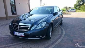 MERCEDES E220 DO ŚLUBU LIMUZYNA, Samochód, auto do ślubu, limuzyna Pogorzela