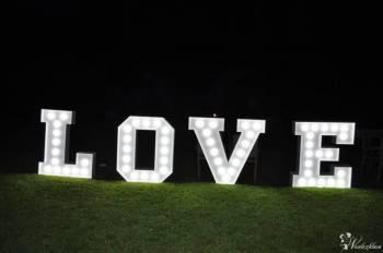 Świecący napis LOVE, Napis Love Kałuszyn