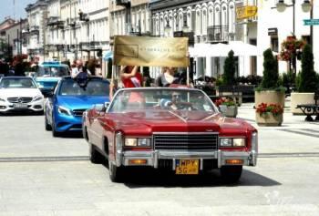 Cadillac Eldorado Cabrio 1976 wynajem Syrena 103 J, Samochód, auto do ślubu, limuzyna Błonie