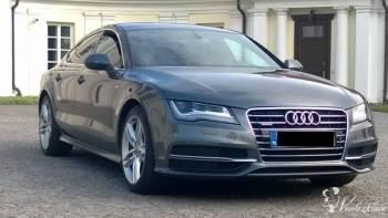 Audi A7 Sportowa limuzyna do ślubu, Samochód, auto do ślubu, limuzyna Nasielsk