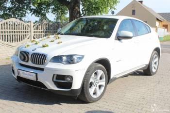 BMW X6, Kia Sportage Eleganckie Auta do ślubu!!!, Samochód, auto do ślubu, limuzyna Kruszwica