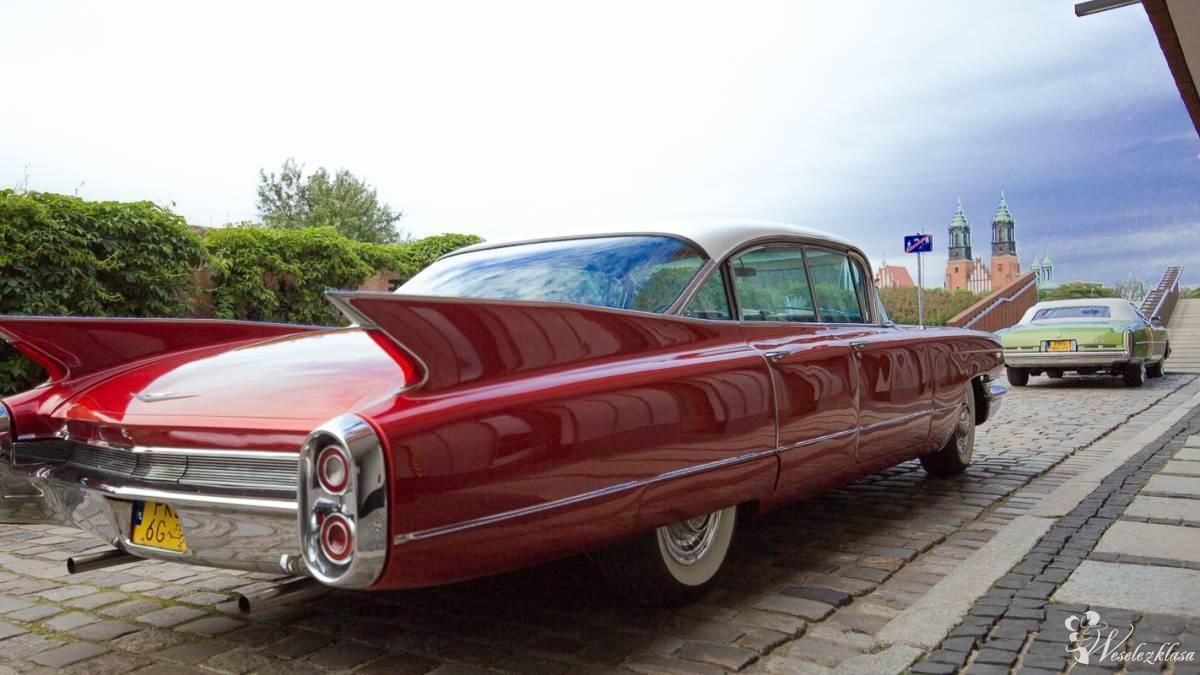 Na wesele auto, Cadillac, auto do ślubu, Śmigiel - zdjęcie 1