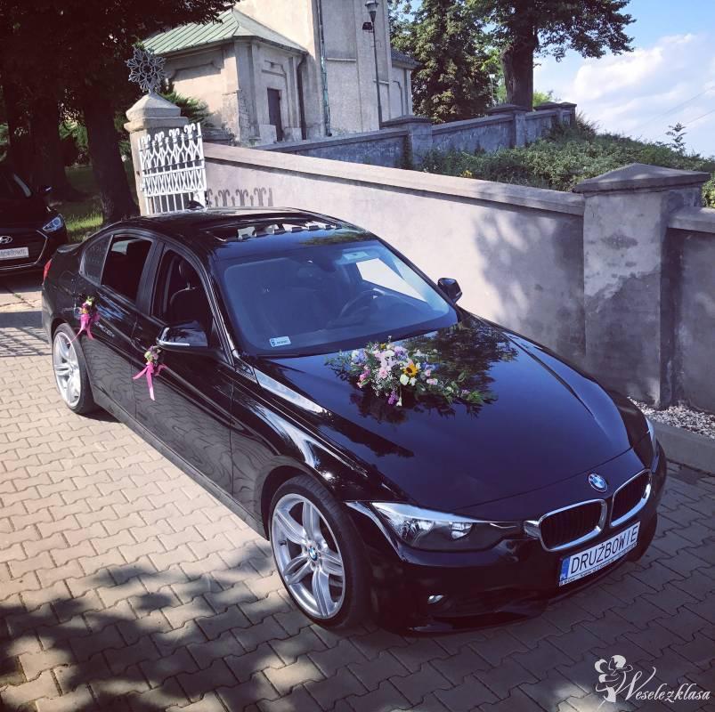 PIĘKNA BMW F30 328xi SERIA 3 WOLNE TERMINY! CZARNY KOLOR! DO ŚLUBU!, Kraków - zdjęcie 1