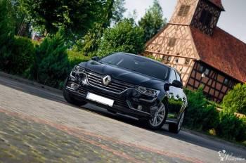 Auto do ślubu Renault Talisman., Samochód, auto do ślubu, limuzyna Biskupiec
