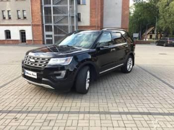 Unikatowy i przestronny 7-miejscowy SUV - Ford Explorer Limited 2016, Samochód, auto do ślubu, limuzyna Myszków