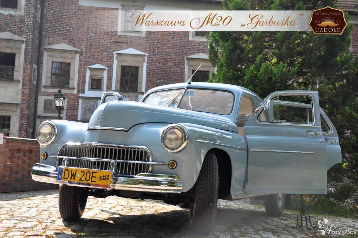 Zabytkowy samochód do Ślubu RETRO auto *Warszawa* M20 Garbuska, Środa Śląska - zdjęcie 1