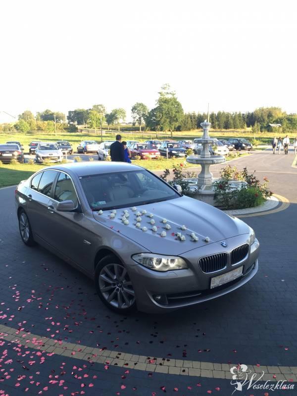 Auto do ślubu, BMW seria 5 F10,  **elegancki kolor**, Siedlce - zdjęcie 1