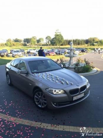 Auto do ślubu, BMW seria 5 F10,  **elegancki kolor**, Samochód, auto do ślubu, limuzyna Kałuszyn