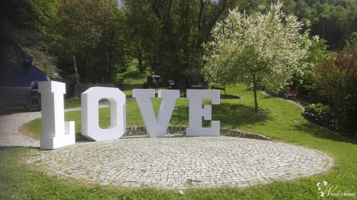 Świecący napis LOVE na wesele!, Kłodzko - zdjęcie 1