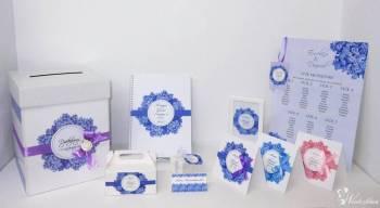 Zaproszenia zawiadomienia dodatki kilkaset wzorów Bazar Kreatywny, Zaproszenia ślubne Luboń