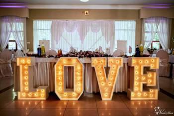 Litery LOVE napis na Twoje przyjęcie weselne, Napis Love Białystok