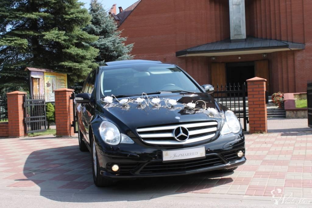 Mercedesem R-class long (przedłużany) do ślubu, Augustów - zdjęcie 1