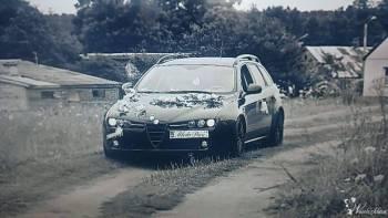 Ślubna Alfa 159, Samochód, auto do ślubu, limuzyna Białystok