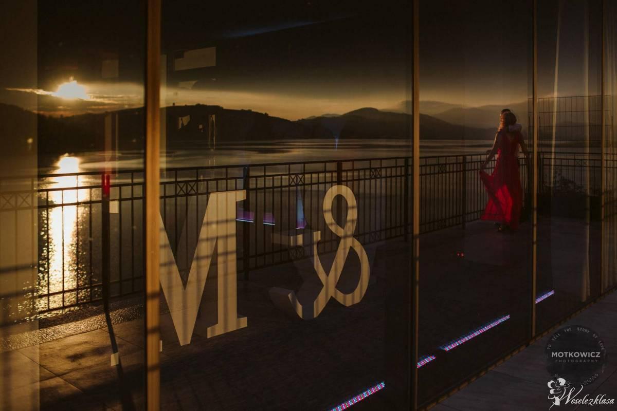 Litery świetlne na Twoje wesele, inicjały Młodej Pary, Nowy Sącz - zdjęcie 1