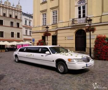 Auto do Ślubu Limuzyna Lincoln Town Car, Navigator, Jaguar, Samochód, auto do ślubu, limuzyna Krasnobród