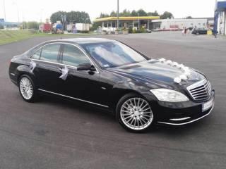 Mercedes S Klasa Limuzyna Samochód do Ślubu na Wesele z Kierowcą W221,  Dębica