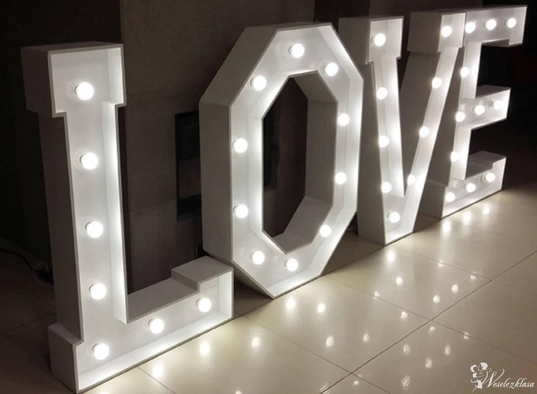 Napis LOVE ! najtańszy wynajem w okolicy, wesela, zaręczyny, sesje HIT, Gliwice - zdjęcie 1