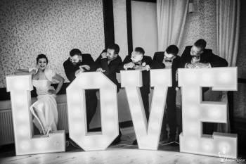 Napis Love Dekoracja, Napis Love Białystok