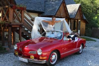 Cabrio VW Karmann Ghia, Samochód, auto do ślubu, limuzyna Białobrzegi