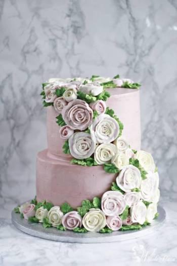 Pracownia tortów Pychotka Magdalena Wrzall, Tort weselny Polkowice