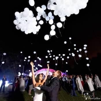 Hit 2018! Kalejdoskop Balony z helem LED pudło z balonami, Balony, bańki mydlane Lublin