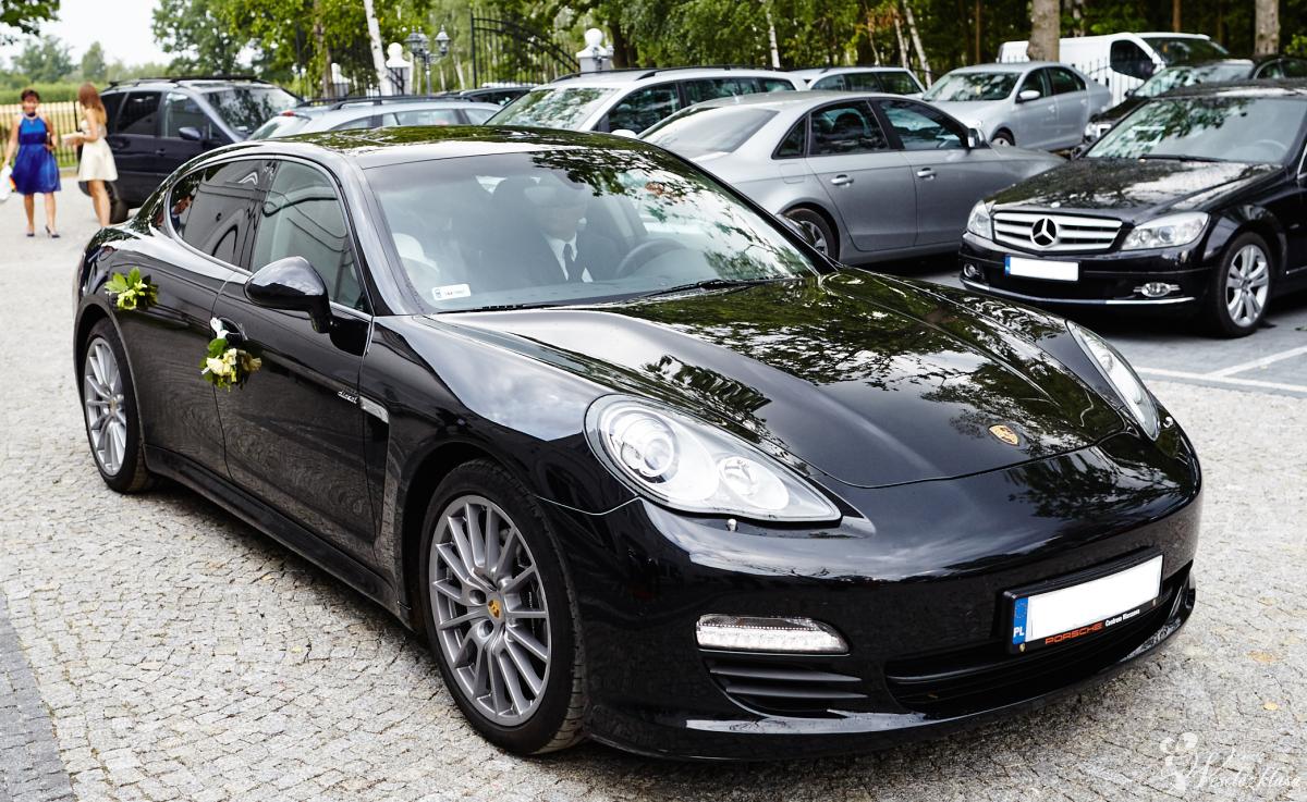 Do ślubu ekskluzywnym Porsche Panamera, Warszawa - zdjęcie 1