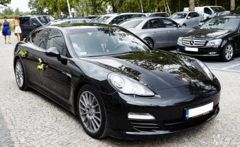 Do ślubu ekskluzywnym Porsche Panamera, Samochód, auto do ślubu, limuzyna Warszawa