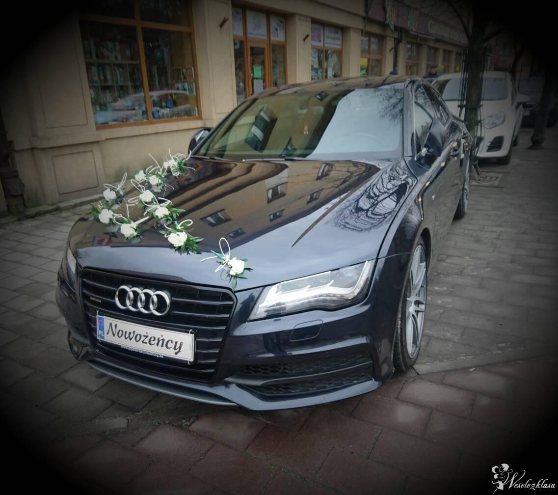 LUKSUSOWY SAMOCHÓD na Twój Ślub! Grafitowe Audi A7, Olkusz - zdjęcie 1