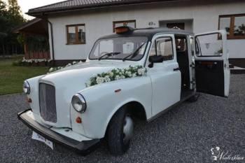 Auto do ślubu Londyńska Taksówka, Samochód, auto do ślubu, limuzyna Iława