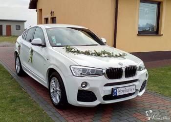 Studio MAX FILM - BMW X4 PAKIET M, Samochód, auto do ślubu, limuzyna Toszek