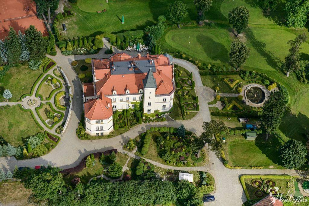 Pałac Brzeźno zjawiskowe wesele w pałacowych ogrodach, Prusice - zdjęcie 1