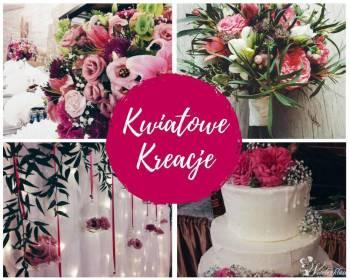 Bukiety i wiązanki, dekoracje, Kwiatowe Kreacje, Bukiety ślubne Andrychów