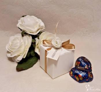 Podziękowania dla gości weselnych, rękodzieło, możliwość personalizacj, Prezenty ślubne Ustrzyki Dolne