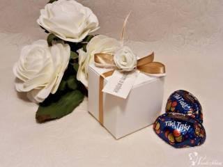 Podziękowania dla gości weselnych, rękodzieło, możliwość personalizacj,  Krosno