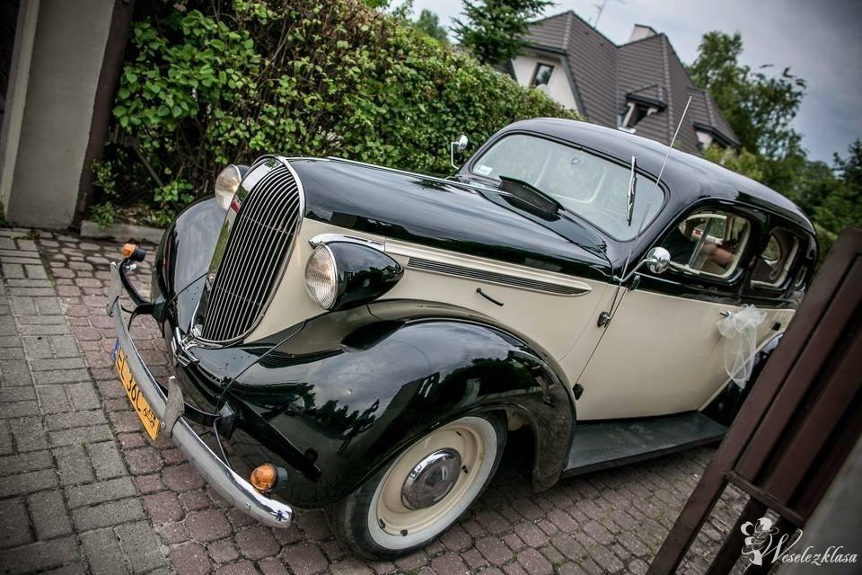 AUTO DO ŚLUBU Plymouth firmy Chrysler z 1938 roku., Łódź - zdjęcie 1