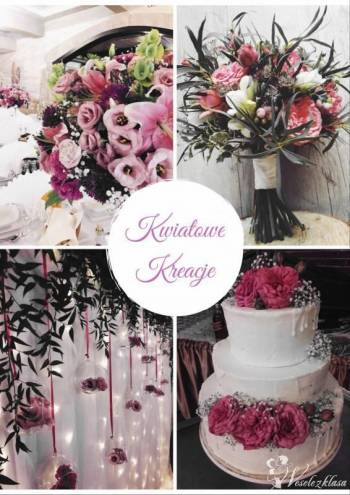 Kwiatowe Kreacje bukiety ślubne, dekoracje sal, kościołów, samochodów, Dekoracje ślubne Szczucin