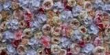Wypożyczalnia dekoracji ślubnych Tło dekoracyjne z kwiatów 2,5 m x 2 m, Wrocław - zdjęcie 3
