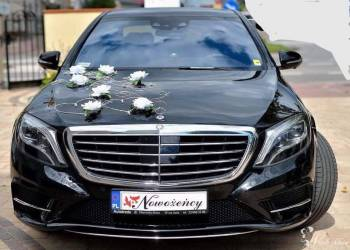 Mercedes s 550 long wesela, biznes miting, kawalerskie itp, Samochód, auto do ślubu, limuzyna Szepietowo