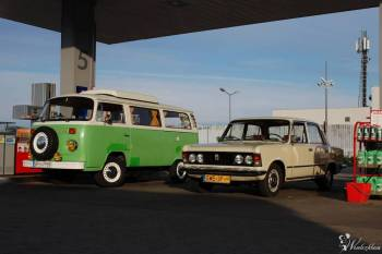 Fiat 125p (Fb: Rumski Fiat 125p), Samochód, auto do ślubu, limuzyna Rumia