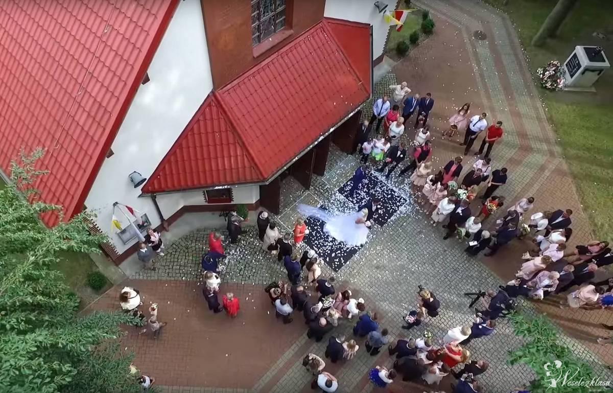 Filmowanie ślubów, wesel z drona, Nowa Sól - zdjęcie 1