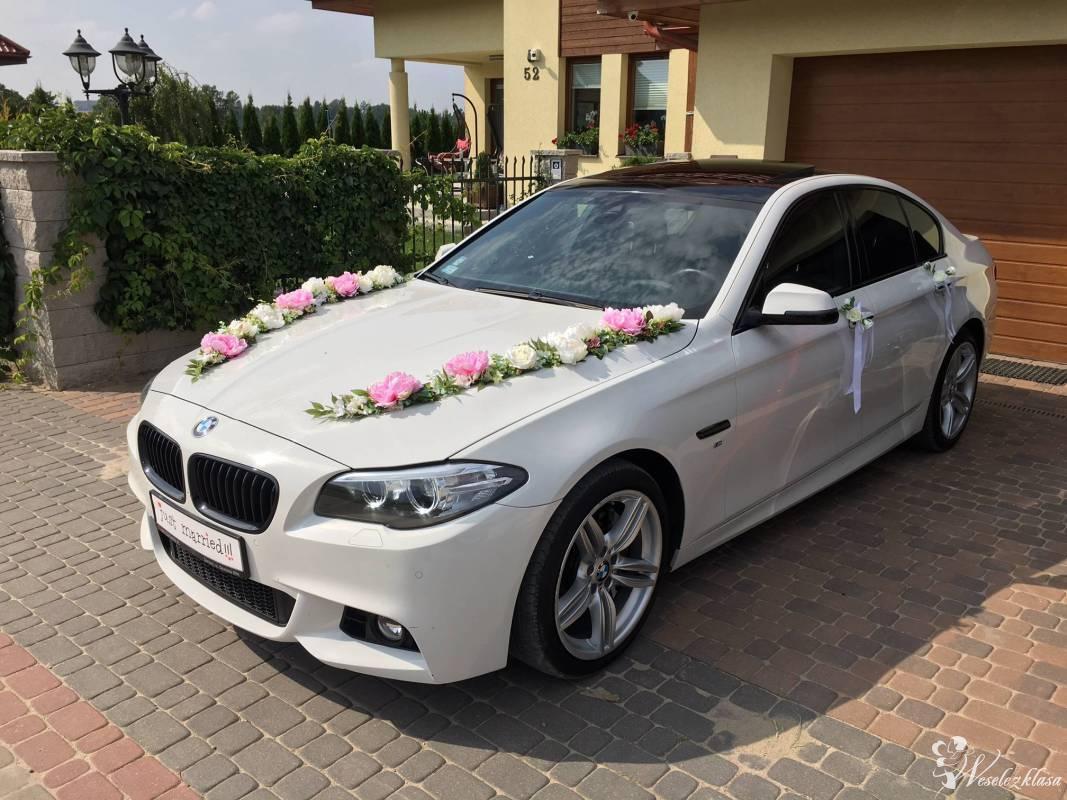 *Biała* NOWA  BMW 5 F10 M-PAKIET Limuzyna do ślubu, Żukowo - zdjęcie 1