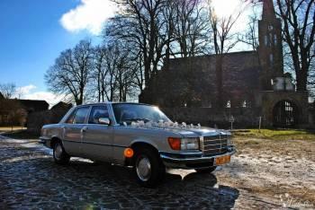 Auto do ślubu, Zabytkowy retro Mercedes S, Sportowe AMG, Limuzyna BMW7, Samochód, auto do ślubu, limuzyna Wałcz