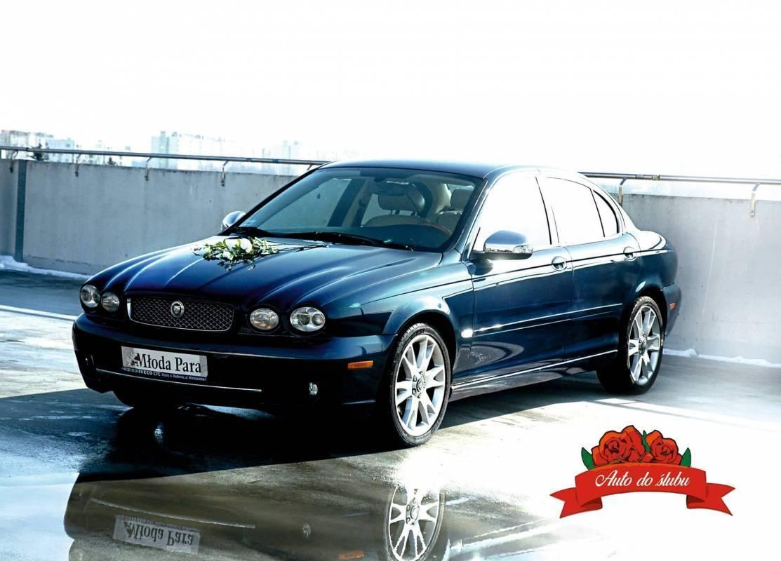 Auto do ślubu, samochód na wesele - JAGUAR X-Type + Napis LOVE, Lublin - zdjęcie 1
